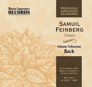 J.S.Bach: Well Tempered Clavier, Clavier Works & Feinberg's Piano Transcriptions, etc