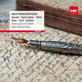 Gelber and Weissenberg plays Bach Transcriptions