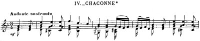 Bach=Philipp/ Chacconne for left hand only
