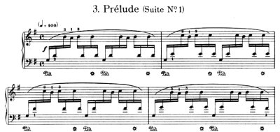 Bach=Siloti/ Prelude from Four Etudes for the Young