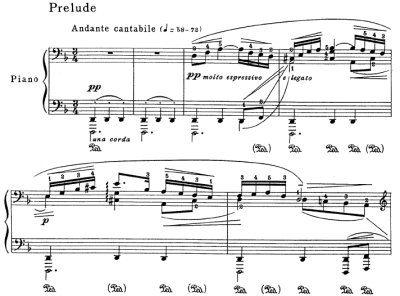 Bach=Godowsky/Prelude from Suite No.2 for violincello solo BWV 1008