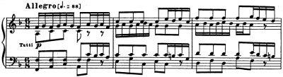 Bach=Tulin/ Brandenburg Concerto No.1 BWV 1046 3rd. mov.