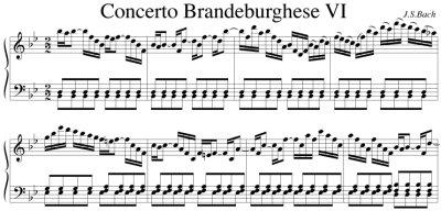 Bach=Cerutti/ Brandenburg Concerto No.6
