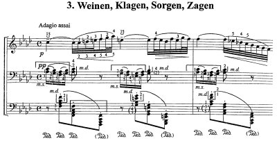Bach=Stancic/Prelude from Cantata BWV 12 'Weinen, Klegen, Sorgen, Sagen'