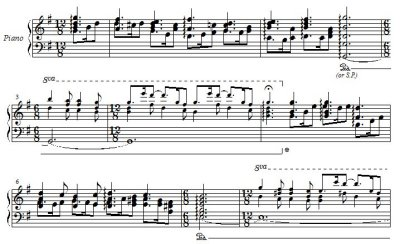 J. S. Bach/ Chrale on 'Vom Himmel Hoch' from Christmas-Oratorio BWV 248, arranged for piano solo, right hand only (after W. Rummel's adaptation) by Hiroyuki Tanaka