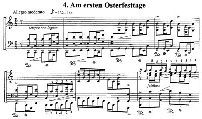 Bach=Stancic/Prelude from Cantata BWV 31 'Am ersten Osterfesttage'