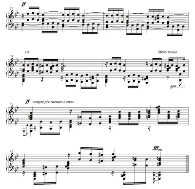 J. S. Bach/ Prelude from Prelude and Fugue in G minor BWV 535, arranged for left hand only by Hiroyuki Tanaka.