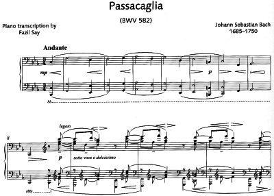 Bach=Say/ Passacaglia c-moll  BWV 582