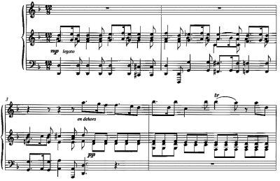 Bach=Tharaud/ Sicilianne from Concerto nach Vivaldi d-moll  BWV 596