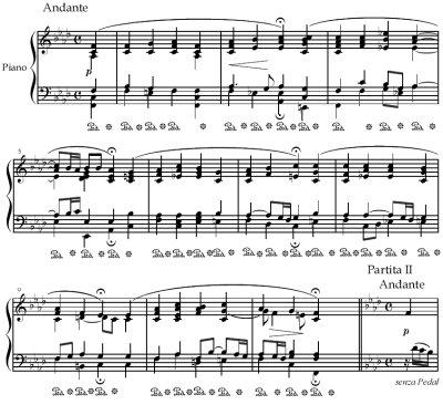 Theme - Chorale Partita 'Christ, der du bist der helle Tag' BWV 766