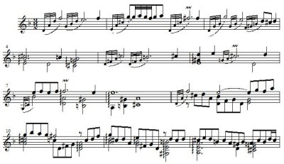 J. S. Bach/ Sarabande and Double from English Suite No. 6 in d minor BWV 811, arranged for right hand only by Hiroyuki Tanaka