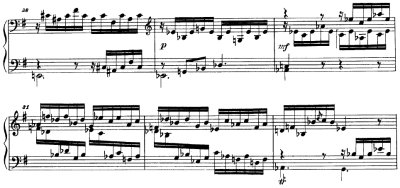 Reicha/ Fugue on the theme of J. S. Bach from 36 Fugues for piano Op.36