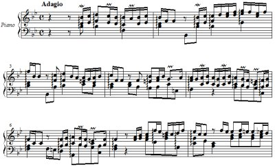 J. S. Bach/ Arioso from Capriccio on the departure of his most beloved brother BWV 992, arranged for right hand only by Hiroyuki Tanaka